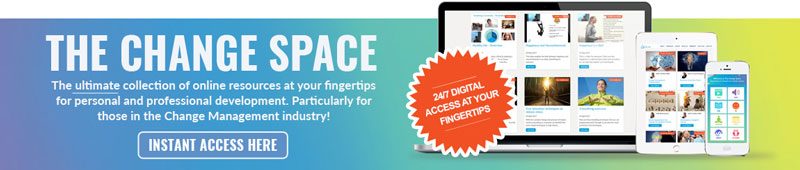 The Change Space web banner