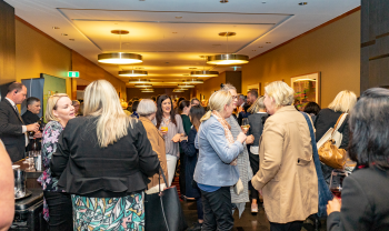 Attendees of Allegra annual event