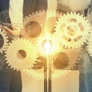 Business cog concept