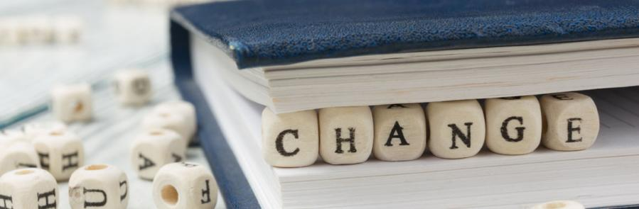 Change letters in book